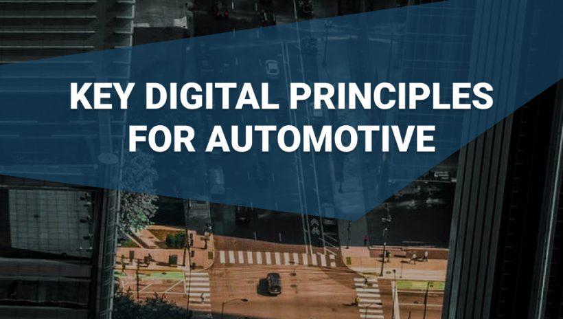 cars on a road digital principles