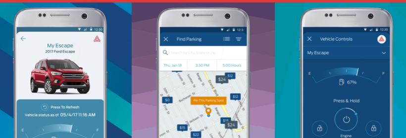 Fordpass Gamification Beispiel App Screens